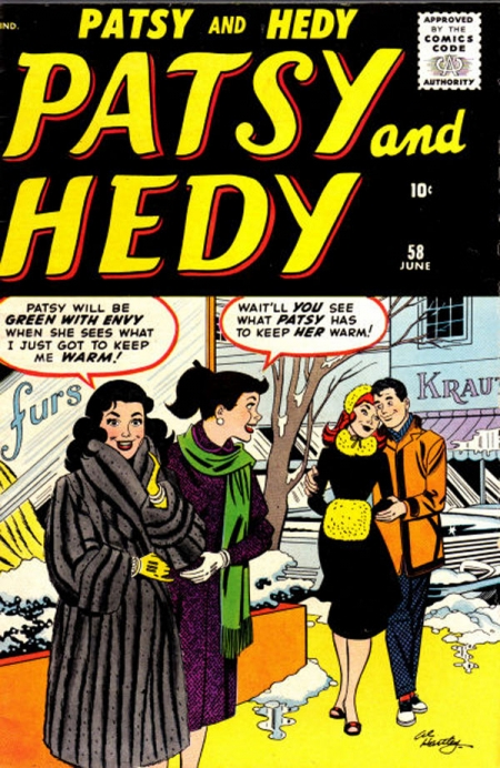 Patsy and Hedy 58 Cover Image