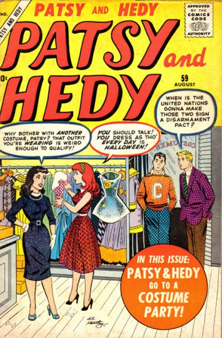 Patsy and Hedy 59 Cover Image