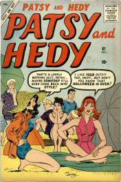 Patsy and Hedy 61 Cover Image