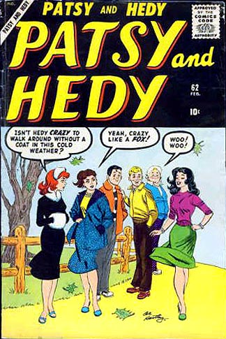 Patsy and Hedy 62 Cover Image