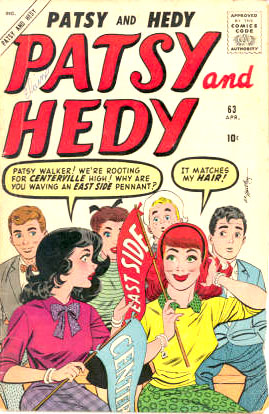 Patsy and Hedy 63 Cover Image