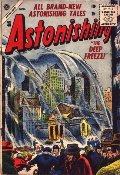 Astonishing 40 Cover Image