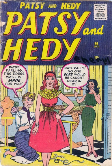 Patsy and Hedy 66 Cover Image