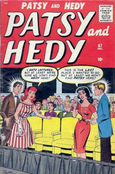 Patsy and Hedy 67 Cover Image
