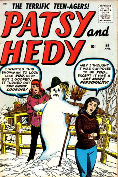 Patsy and Hedy 69 Cover Image