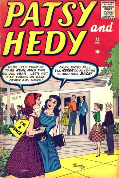 Patsy and Hedy 73 Cover Image