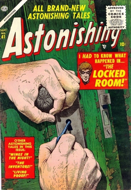 Astonishing 41 Cover Image