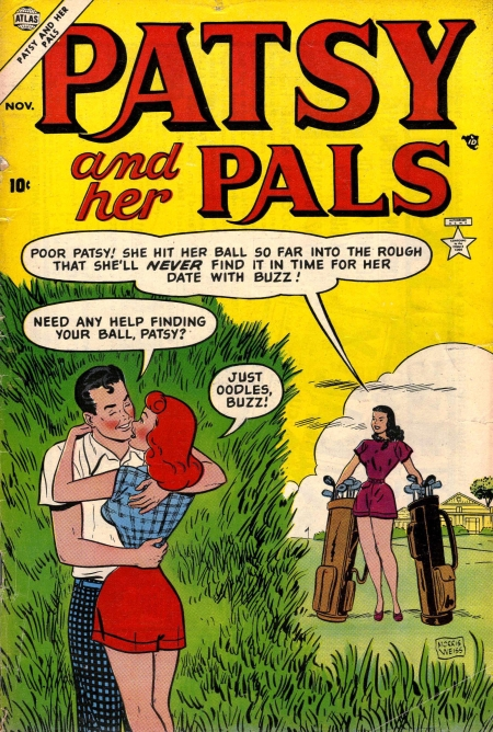 Patsy and Her Pals 4 Cover Image