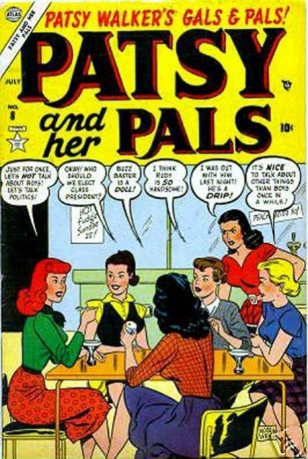 Patsy and Her Pals 8 Cover Image