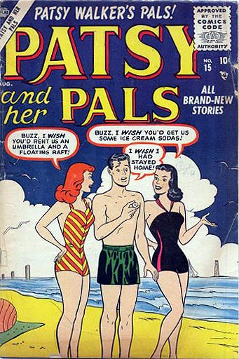 Patsy and Her Pals 15 Cover Image