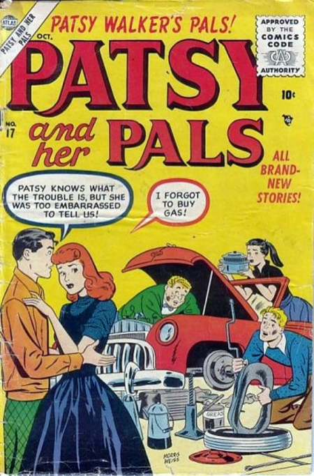 Patsy and Her Pals 17 Cover Image