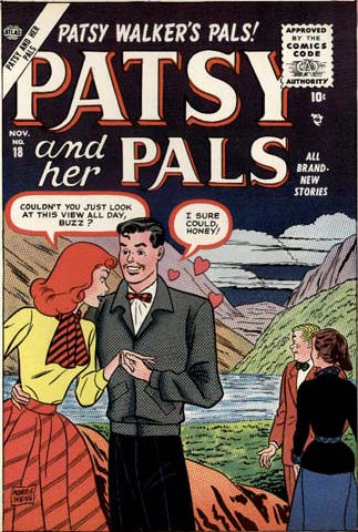 Patsy and Her Pals 18 Cover Image