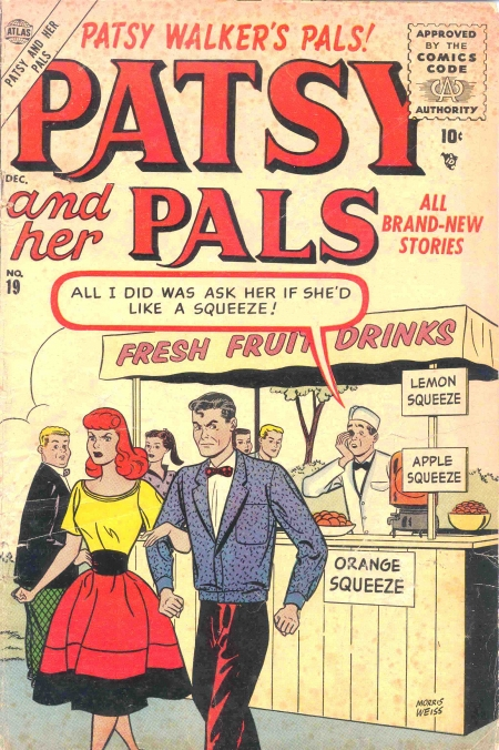 Patsy and Her Pals 19 Cover Image