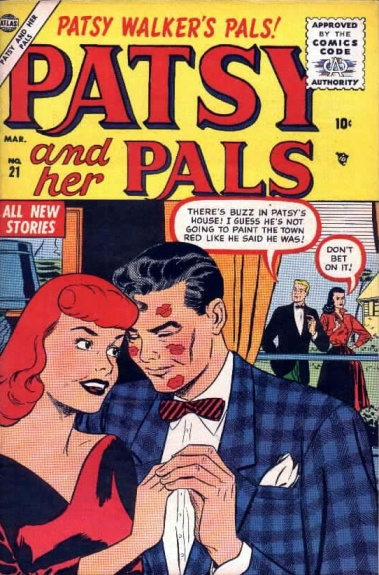 Patsy and Her Pals 21 Cover Image