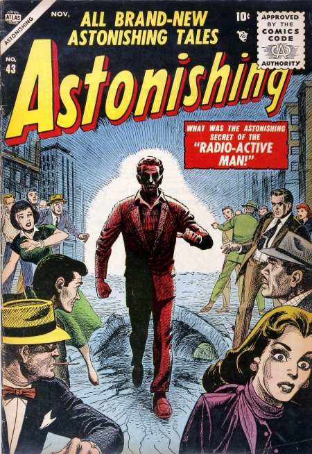 Astonishing 43 Cover Image