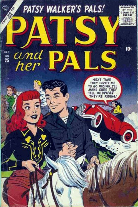 Patsy and Her Pals 25 Cover Image
