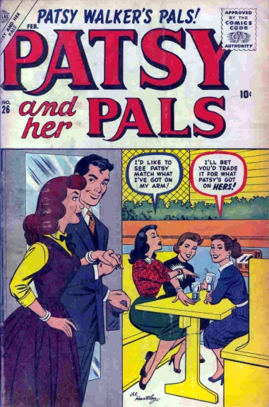 Patsy and Her Pals 26 Cover Image