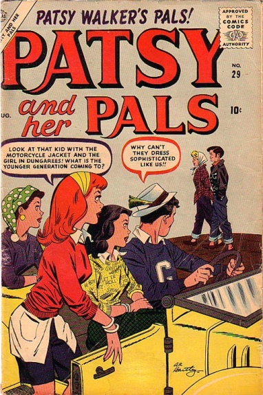 Patsy and Her Pals 29 Cover Image
