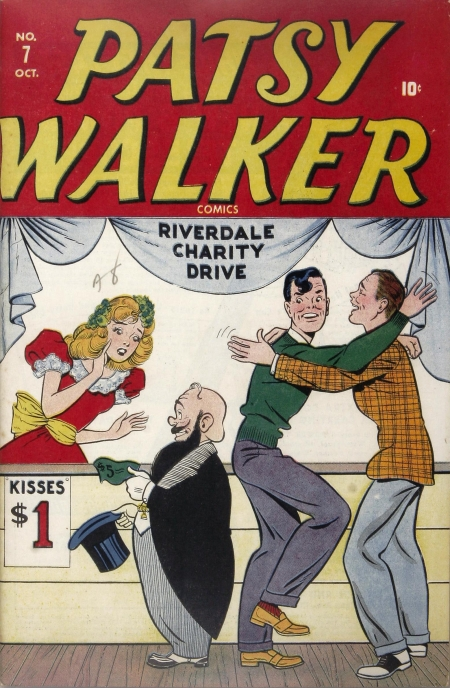 Patsy Walker 7 Cover Image