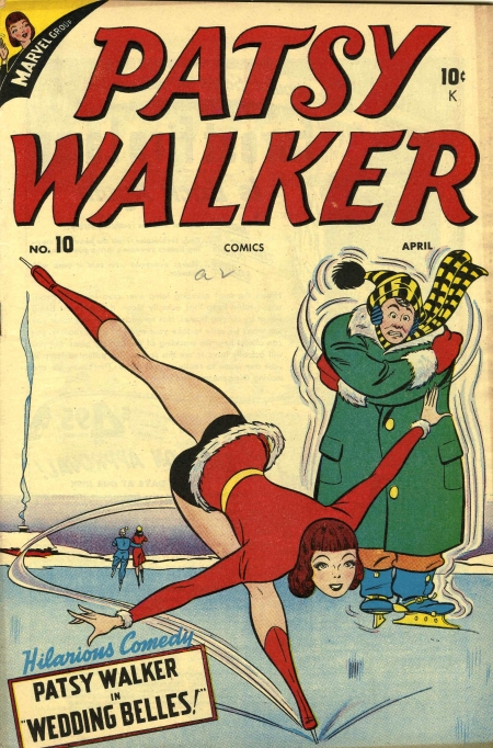 Patsy Walker 10 Cover Image