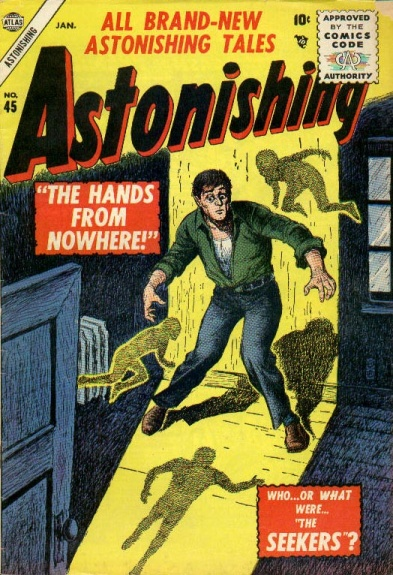 Astonishing 45 Cover Image