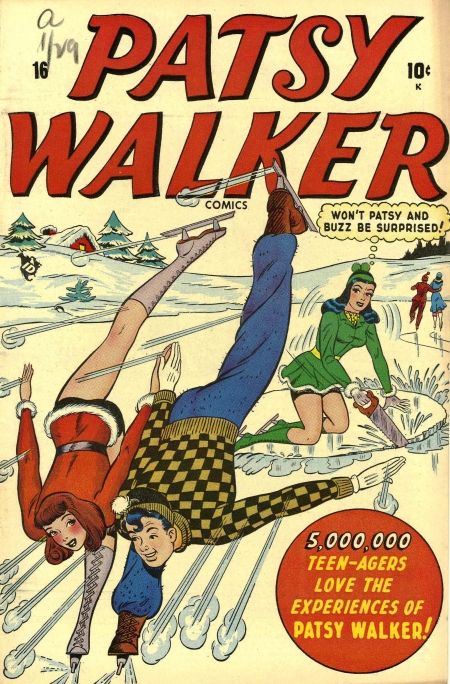 Patsy Walker 16 Cover Image