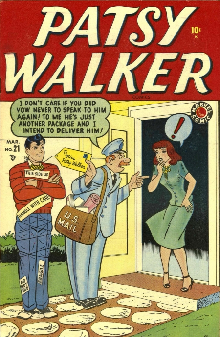Patsy Walker 21 Cover Image