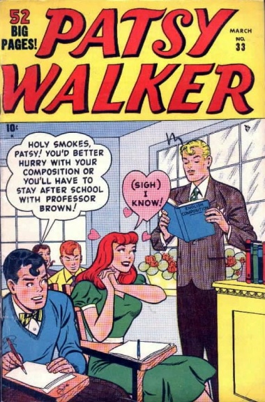 Patsy Walker 33 Cover Image