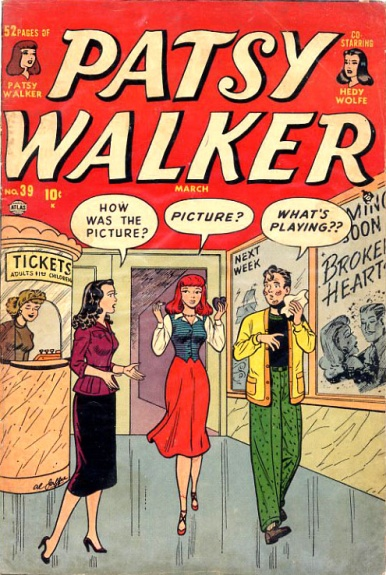 Patsy Walker 39 Cover Image