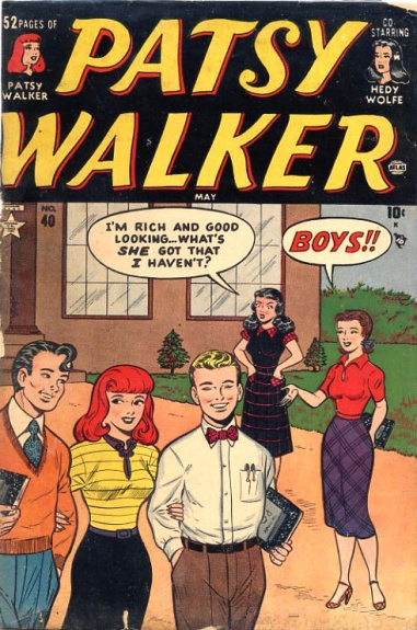 Patsy Walker 40 Cover Image