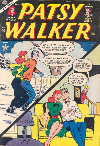 Patsy Walker 56 Cover Image