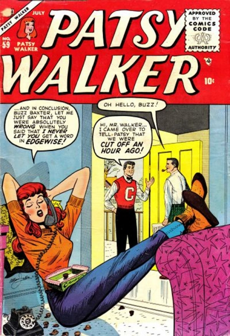 Patsy Walker 59 Cover Image