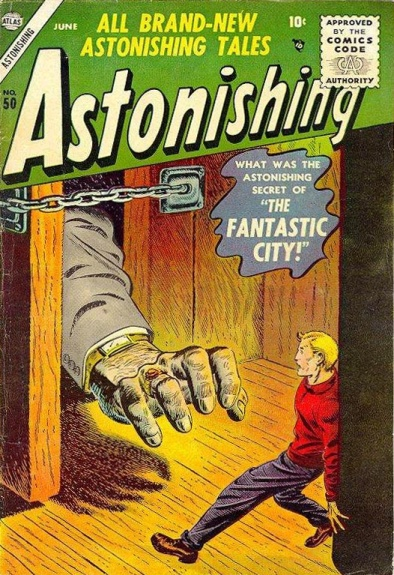 Astonishing 50 Cover Image