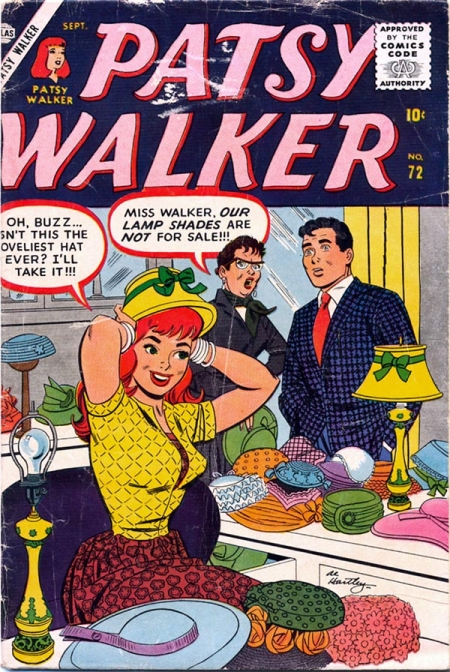 Patsy Walker 72 Cover Image
