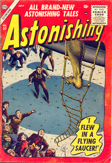 Astonishing 51 Cover Image