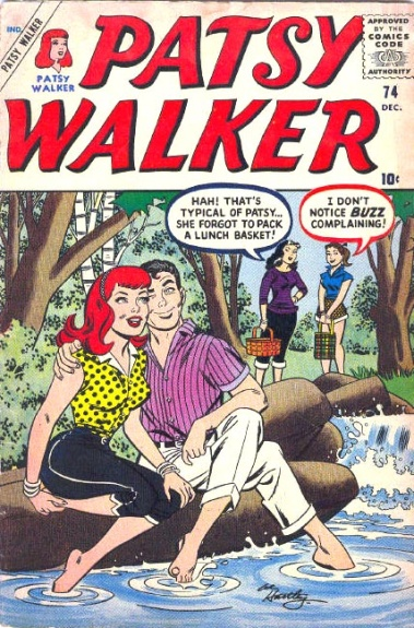 Patsy Walker 74 Cover Image