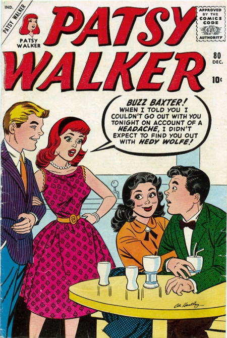 Patsy Walker 80 Cover Image