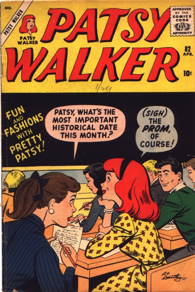 Patsy Walker 82 Cover Image
