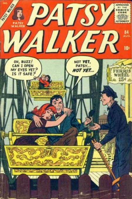 Patsy Walker 84 Cover Image