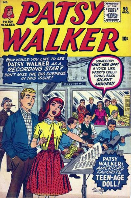 Patsy Walker 90 Cover Image