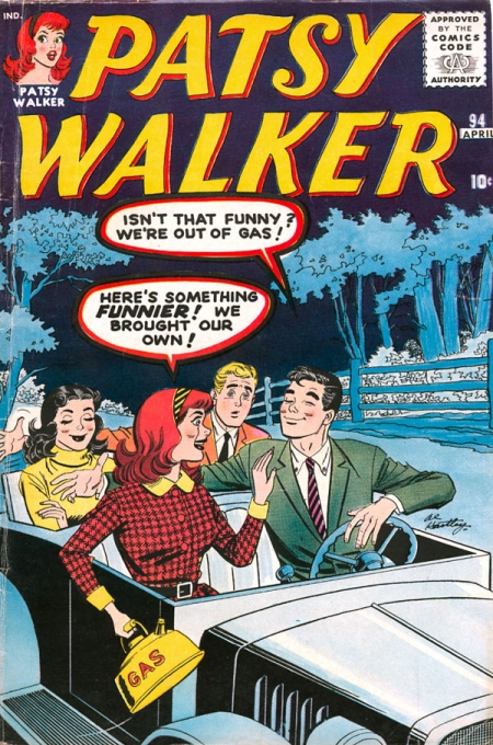Patsy Walker 94 Cover Image
