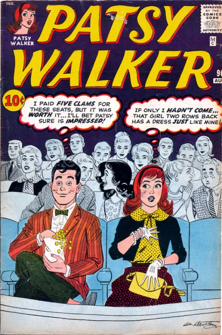 Patsy Walker 96 Cover Image