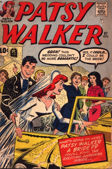 Patsy Walker 97 Cover Image