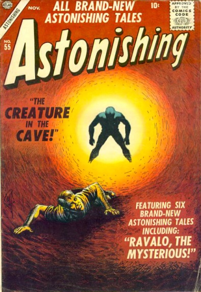 Astonishing 55 Cover Image