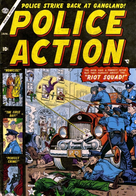 Police Action 1 Cover Image