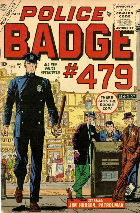 Police Badge #479 5 Cover Image
