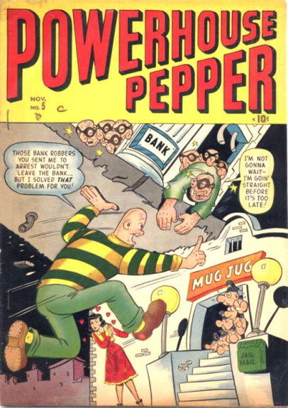 Powerhouse Pepper Comics 5 Cover Image