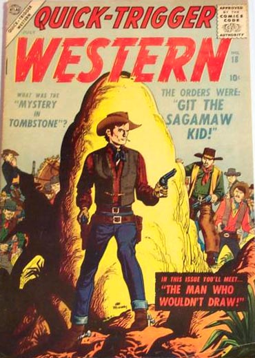 Quick-Trigger Western 18 Cover Image