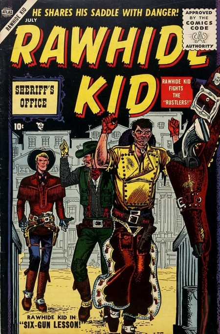 Rawhide Kid 3 Cover Image