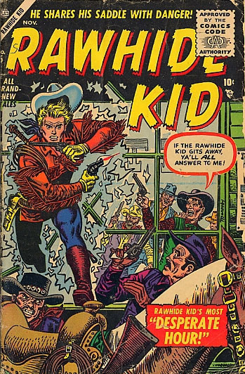 Rawhide Kid 5 Cover Image